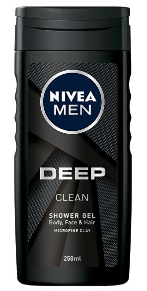 Nivea Men Deep Clean sprchový gel 250 ml