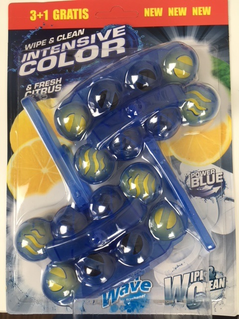 Air Wave Triple Action WC blok Blue Lemon 4x50 g