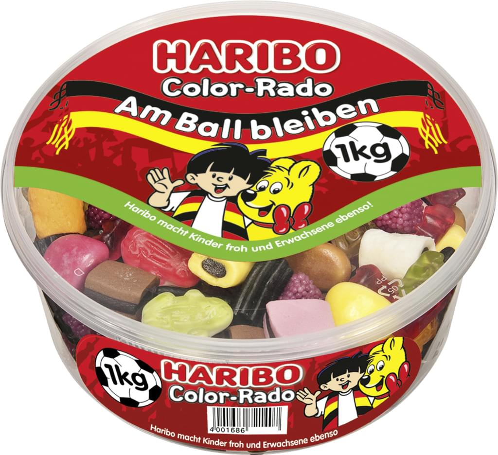 Haribo Color-Rado 1 kg box