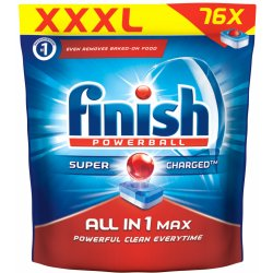 Calgonit Finish All in 1 Max Super Charged Regular 76 tablet