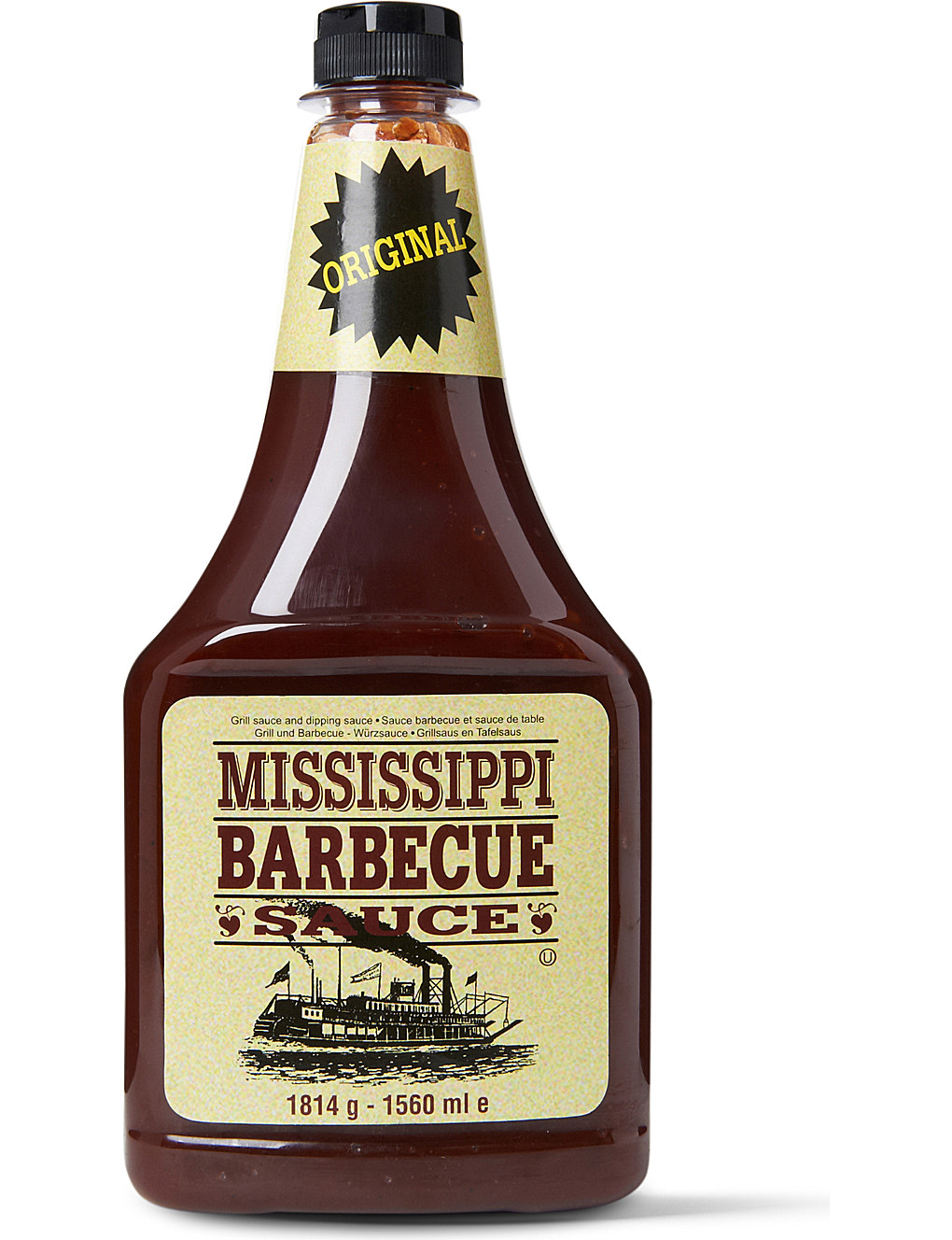 Mississippi Barbecue Sauce Original 1814g