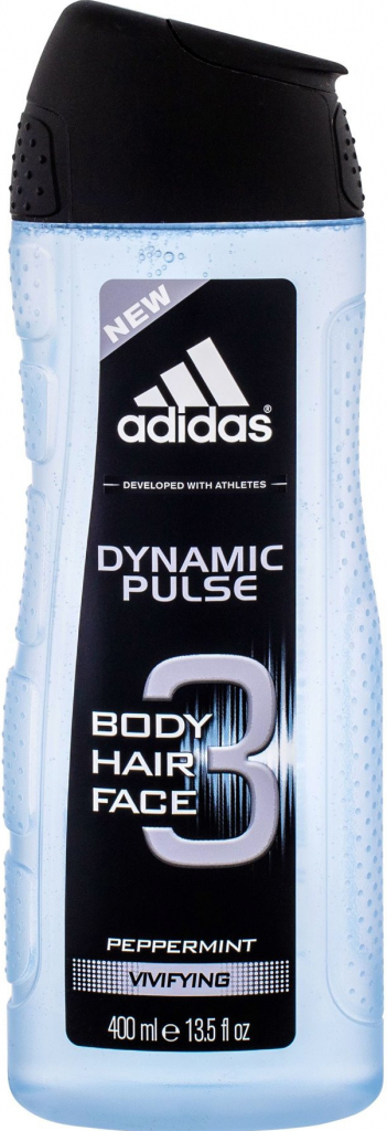 Adidas Dynamic Pulse Men sprchový gel 3v1 400ml