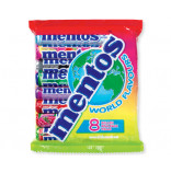 Mentos World Flavours Mix - 8 druhů - 304g