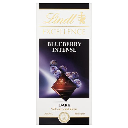 Lindt Excellence Blueberry Intense 100g