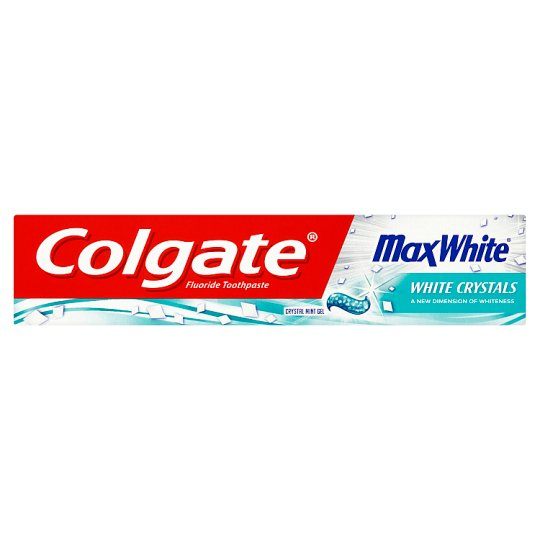 Colgate Max White White Crystals 125 ml