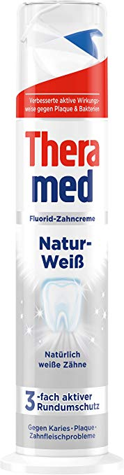 Theramed Natur Weiss bělící zubní pasta 100 ml