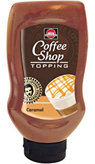 Schwartau Coffee Shop Topping Caramel omáčka 250ml