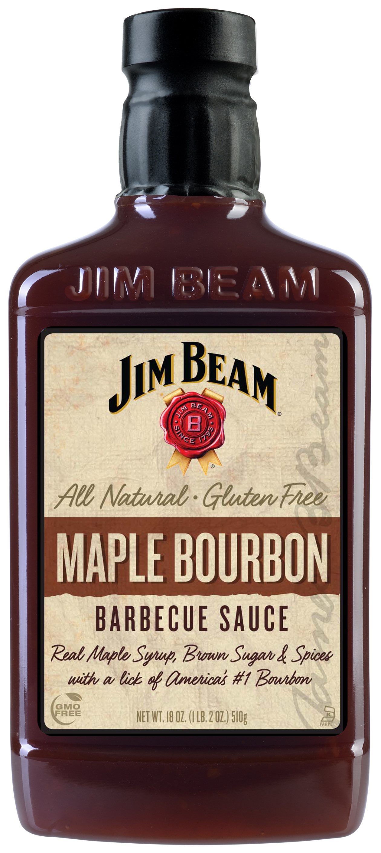 Jim Beam Maple Bourbon barbecue sauce 395 ml (510g)