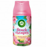 Air Wick Freshmatic Beach Escapes náplň do osvěžovače vzduchu Malibu Beach & Hibiscus 250 ml