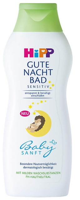 Hipp Gute Nacht Bad Sensitiv pěna do koupele 350 ml