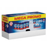 Finish All in One Max tablety do myčky 120 ks PROMO PACK