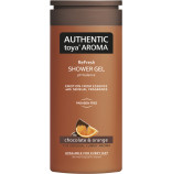 Authentic Toya Aroma Chocolate & Orange aromatický sprchový gel 400 ml