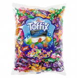 Toffix Center Filled Fruit Chew cucací bonbóny s náplní 1kg