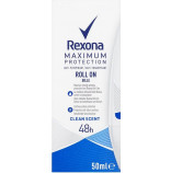 Rexona Maximum Protection Roll On Clean Scent krémový antiperspirant Woman 45 ml