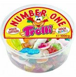 Trolli Number One mix želé bonbónů 1 kg