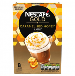 Nescafé Gold Caramelised Honey Latté 8x20g německé