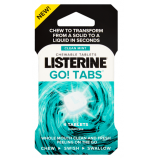Listerine GO! Clean Mint  tablety 4ks