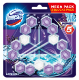 Domestos Power 5 Levandule WC blok 3x55g TRIPACK