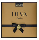 Lindt Diva Luxury Selection bonboniéra zlatá 173g