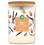 Air Wick svíčka Vanilla Bean & Sweet Almond 185g