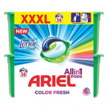 Ariel 3v1 gelové kapsle Touch of Lenor 56 ks