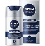 Nivea Men Active Age 2v1 balzám po holení 6 effect 75 ml