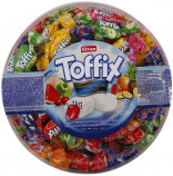 Toffix Center Filled Fruit Chew cucací bonbóny s náplní 1kg BOX