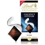 Lindt Excellence Coconut Intense 100g, EXP 06/20