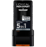Loréal Men Expert Carbon Clean 5v1 sprchový gel XXL 400 ml