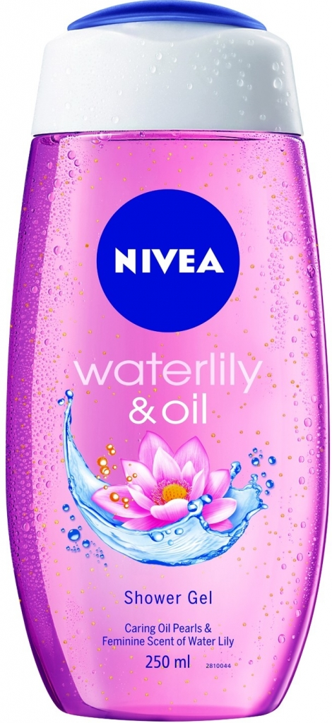 Nivea Water Lilly & Oil sprchový gel 250 ml
