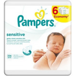 Pampers Ubrousky Sensitive 6x56 ks