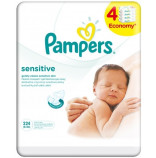 Pampers Ubrousky Sensitive 4x56 ks