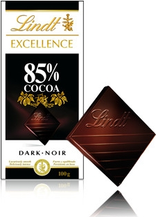 Lindt Excellence 85% kakaa 100g