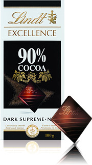 Lindt Excellence 90% kakaa 100g