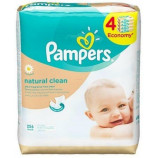 Pampers Ubrousky Natural Clean 4x64 ks