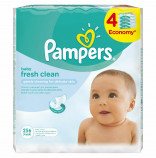 Pampers Ubrousky Baby Fresh 4x64 ks