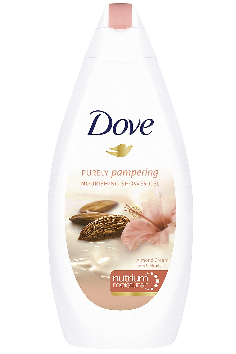 Dove Purely Pampering Almond Cream sprchový gel 500 ml