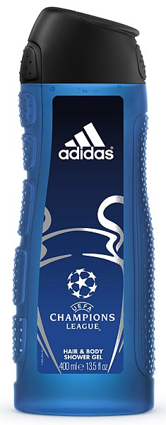Adidas UEFA Champions League sprchový gel 3v1 400ml