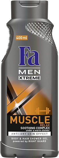 Fa Men Xtreme Muscle sprchový gel 400 ml