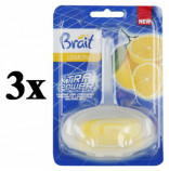 Brait WC závěs lemon 40g - 3ks