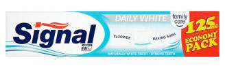 BONUS - Signal Daily White Family pack 125ml