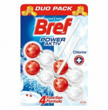 Bref Power Activ WC blok Chlorine 2x50 g