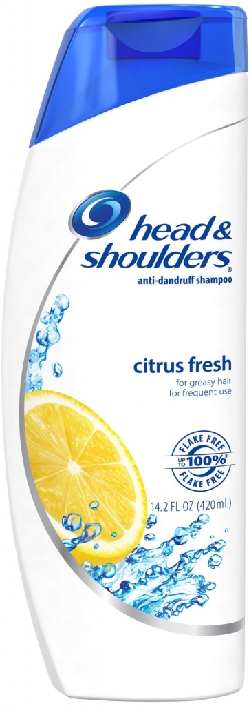 Head & Shoulders Citrus Fresh šampon pro mastné vlasy 400 ml