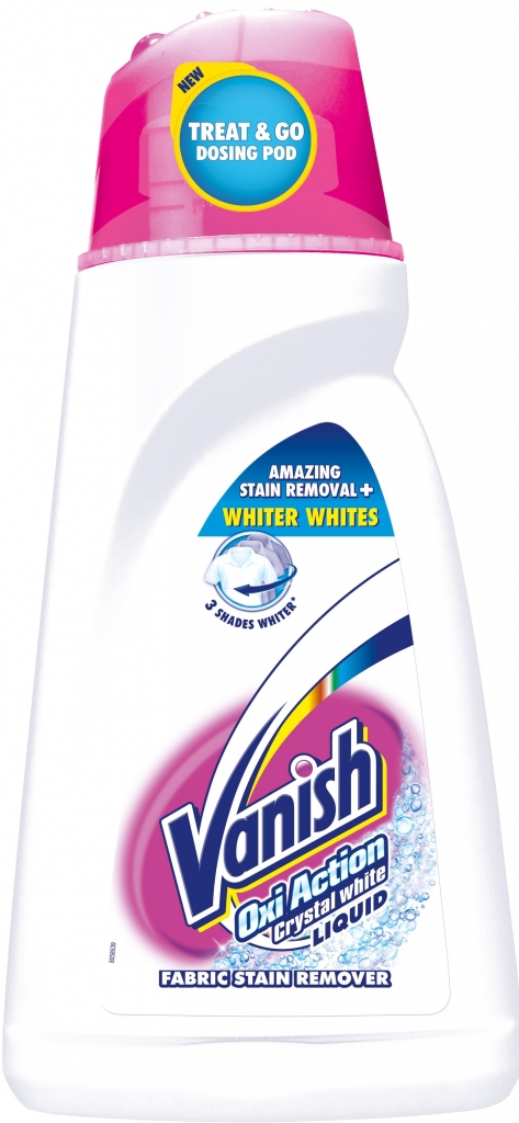 Vanish Oxi Action White 1,5l + 0,5 l ZDARMA