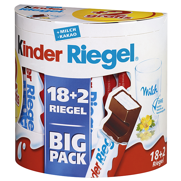 Kinder Riegel 20ks