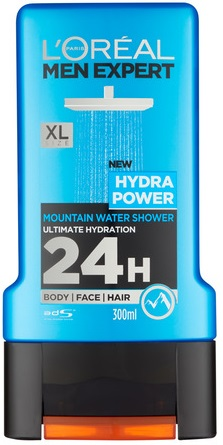 Loréal Men Expert Hydra Power 3v1 sprchový gel 300 ml