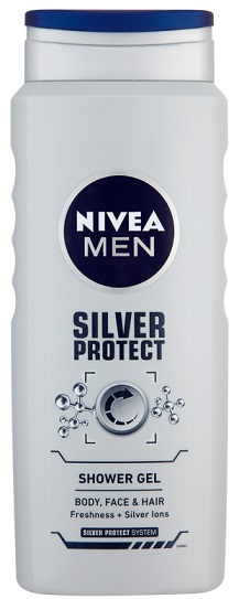 Nivea Men Silver Protect sprchový gel 500 ml
