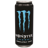 Monster Energy Absolutely Zero plech 0,5l - mini karton - balení 12ks