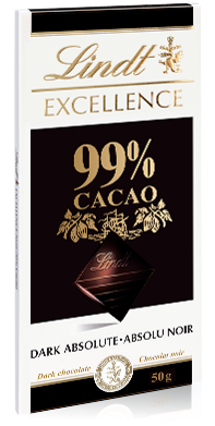 Lindt Excellence 99% kakaa 50g