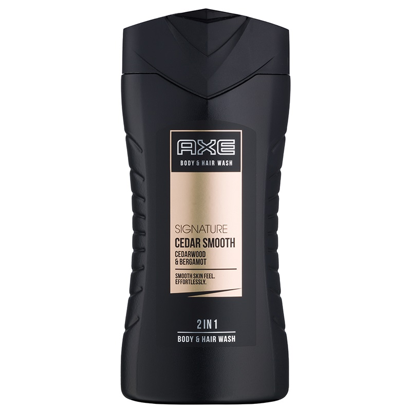 Axe Signature Cedar Smooth 2v1 sprchový gel a šampon 250 ml